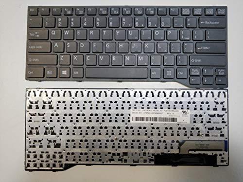 Tschechisch Slowakisch Us Laptop Tastatur Für Fujitsu Lifebook E733 E734 E743 E744 E546 E547 E544 E736 Schwarzer Rahmen Cz Sl Us Layout, Grau