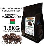 Cacao Venezuela Delta - Chocolate Negro Puro 100% · Origen Madagascar (Pasta, Masa, Licor De Cacao 100%) · 1,5kg