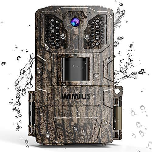 WiMiUS Fotocamera da Caccia, 16MP 1080P...