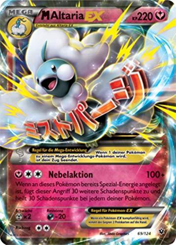 M Altaria EX 69/124 Pokémon XY Schicksalsschmiede Sammelkarte - Deutsch - Cardicuno