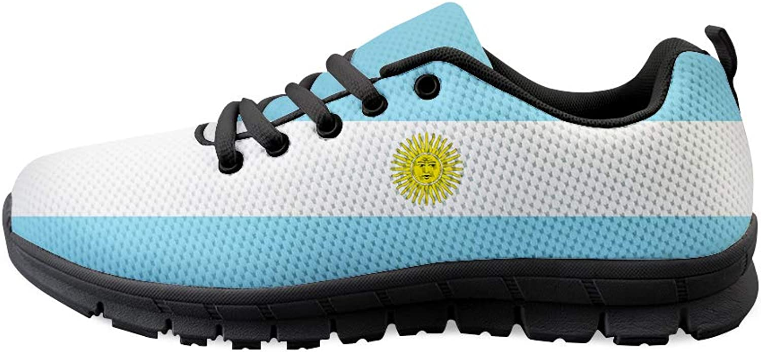 Owaheson Lace-up Sneaker Training shoes Mens Womens silverina Flag