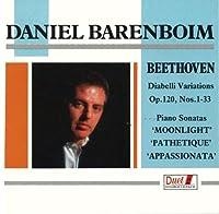 Diabelli Variations, Piano Sonatas.8, 14, 23: Barenboim