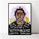 yhyxll Rap Hip Hop Kendrick Lamar Musik Sänger Poster