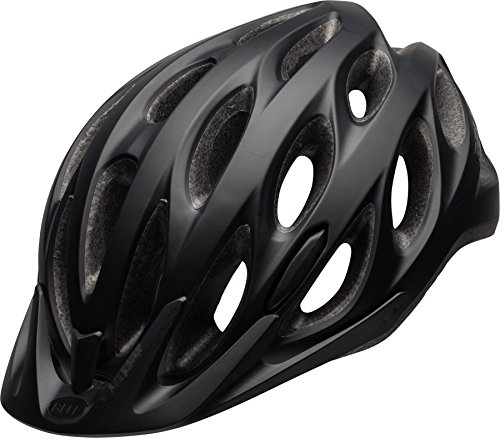 BELL Unisex– Erwachsene Tracker Fahrradhelm, Matte Black, Unisize