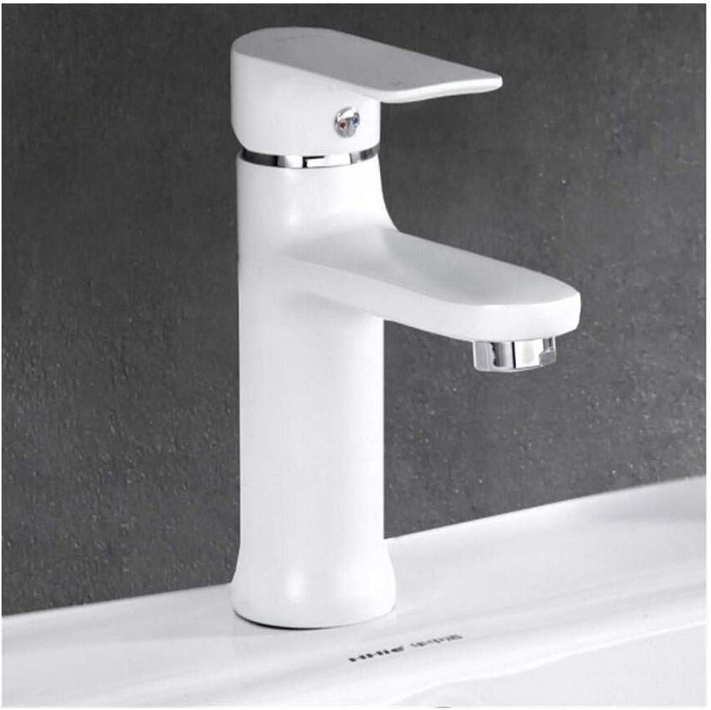 Kitchen Bath Basin Sink Bathroom Taps Bathroom Basin Sink Tap 360 Degree Basin Faucet Brass Single Handle Single Hole Hot and Cold Faucet Ctzl6934