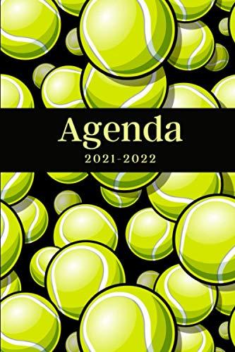 Agenda 2021-2022: Regalo Perfecto de Navidad, Papá Noel o Reyes Magos para Amantes del Tenis, Jugadores, Calendario, Agenda Semanal y Mensual