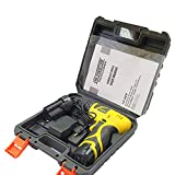 Cheston 10 mm Keyless Chuck 12V Cordless Drill/Screwdriver with 2 Batteries, LED Torch Variable Speed and Torque Setting (19+1)