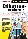 Etiketten Druckerei 7. CD-ROM - Harald Phlipsen