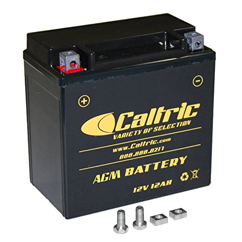 Caltric Agm Battery Compatible With Bmw F-800Gs F800Gs F800Gt F800R F800S F800St 2005-2016
