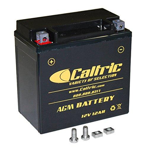 Caltric Agm Battery Compatible with Honda Trx450Es Trx450S Trx-450S Foreman 450 4X4 Es 1998-2001