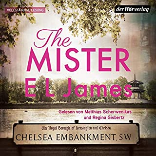 The Mister (German edition)                   By:                                                                                                                                 E. L. James                               Narrated by:                                                                                                                                 Matthias Scherwenikas,                                                                                        Regina Gisbertz                      Length: 16 hrs and 31 mins     Not rated yet     Overall 0.0