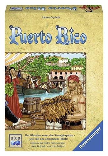 Puerto Rico: Der Klassiker unter den Strategiespielen - jetzt mit neu gestaltetem Inhalt! Inklusive der beiden Erweiterungen