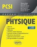 Physique PCSI - 4e édition actualisée de Finot Thierry