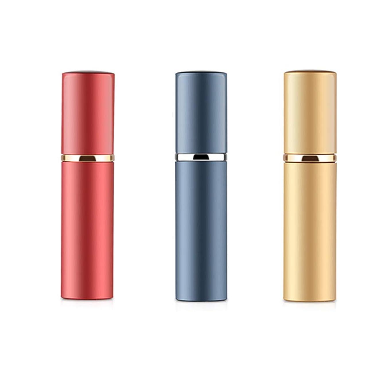 中絶書道習熟度アトマイザ 香水 詰め替え容器 スプレーボトル 小分けボトル トラベルボトル 旅行携帯便利 (3色セット)