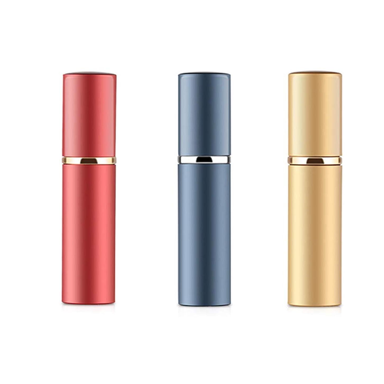 詩人ガロン侵入アトマイザ 香水 詰め替え容器 スプレーボトル 小分けボトル トラベルボトル 旅行携帯便利 (3色セット)