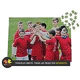 Solopuzzles Puzzle Personalizado con tu Foto Favorita de 500 Piezas (48 x 34 cm). Máxima Calidad de impresión. 10 TAMAÑOS Disponibles (Desde 48 a 3000 Piezas)