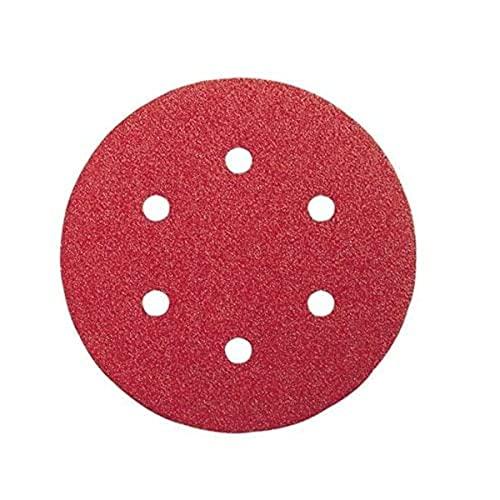 Milwaukee 4002395343287Schleifscheibe für Exzenterschleifer, rot