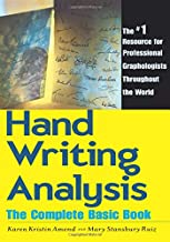 Best handwriting analysis the complete basic book Reviews