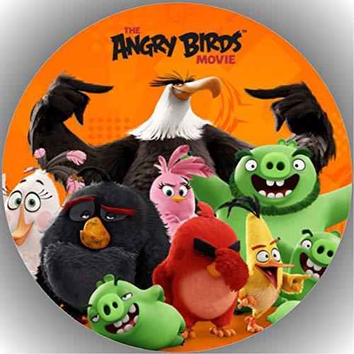 Fondant Tortenaufleger Tortenbild Angry Birds N2