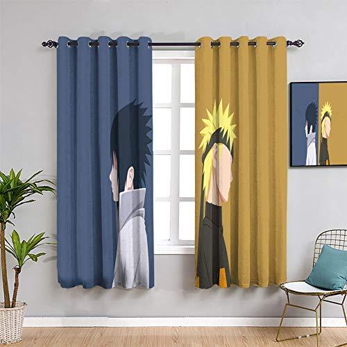 Elliot Dorothy Naruto Anime Poster Characte Manga Energieeffizienz Vorhänge Maßgeschneiderte Kindervorhänge Wasserdicht Fenstervorhang B 42 x L 72