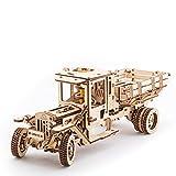 UGEARS UGM-11 Camión Mecánico 3D Rompecabezas de Madera Kit de Construcción Sin...