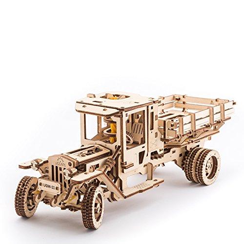 UGEARS 3D Selbstantreibendes UGM 11 LKW- Modell