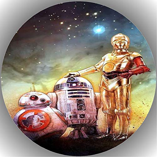 Fondant Tortenaufleger Tortenbild Geburtstag Star Wars T35