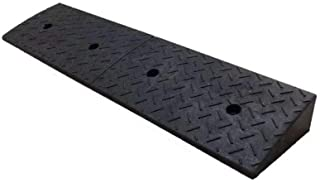 Truck Ramps, Stable Easy to Install Parking Ramps Outdoor Roadside Car Uphill Pad Parking Lot Non-Slip Kerb Ramps 4-10CM (...