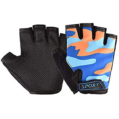 Amazoncom  Kids Cycling Gloves Freehawk NonSlip Ultrathin