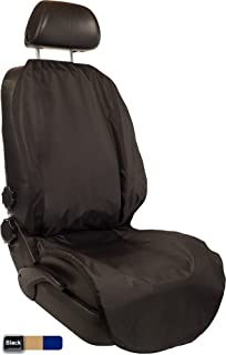 CleanRide™: Bacteria-Resistant, 100% Waterproof Car Seat Cover and Protector: Triathlon Beach Yoga Running Crossfit Sweat Workout (Odor-Resistant and Super-Compact)