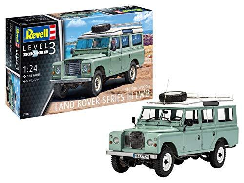 Revell-Land Rover Series III, Escala 1:24 Kit de Modelos de