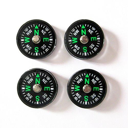 12 Stück Kompass Mini 2cm