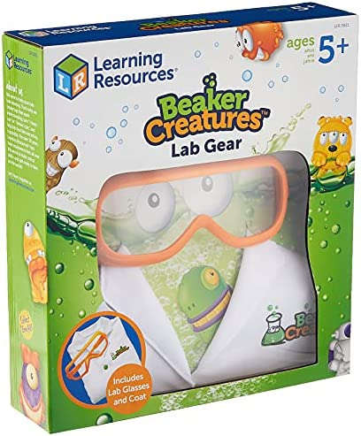 Learning Resources Lab Gear, Pretend Play Scientist Costume, Lab Gear for Kids, Ages 3+