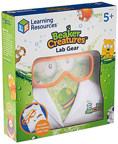 Learning Resources Beaker Creatures Lab Gear, Lab Coat & Glasses