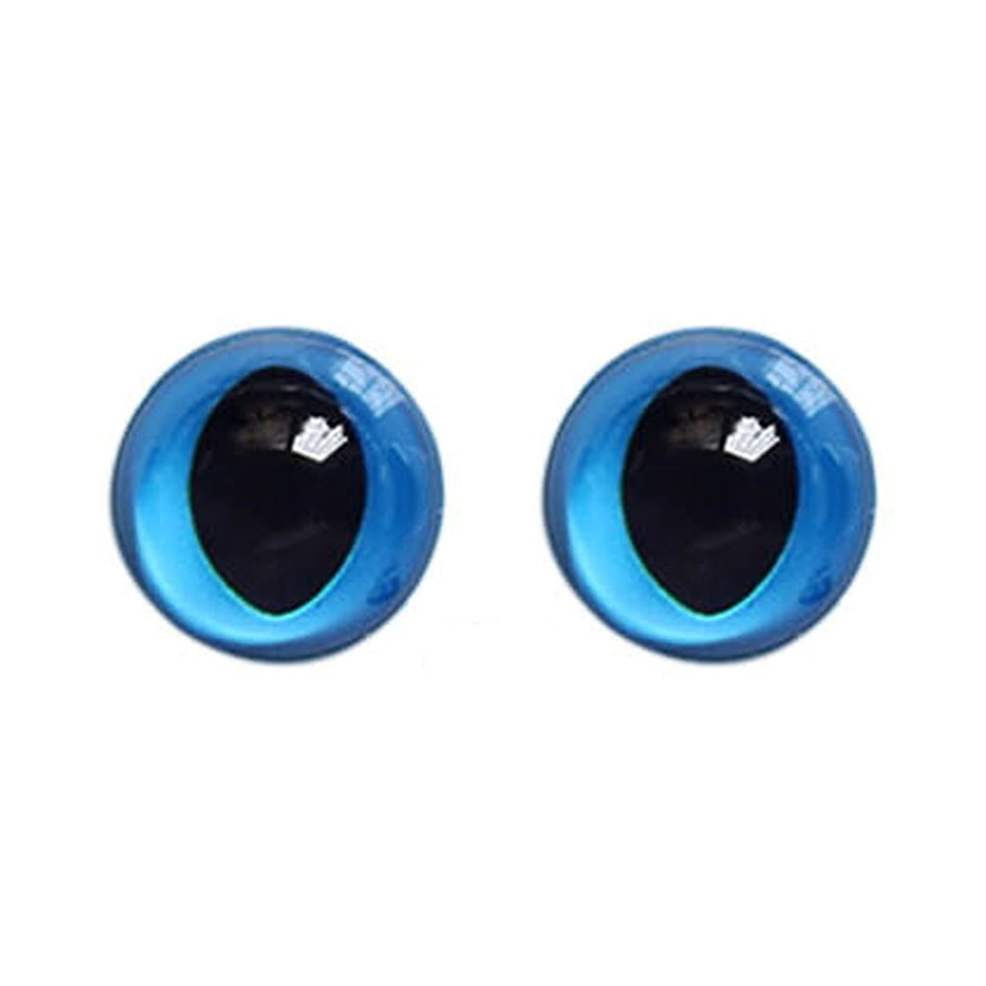 Inlefen Handmade Plastic Animal's Eye Cute Toy DIY Accessories Blue Series jagrtwwssdi417