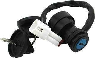 TC-Motor 4 Pin Wire Ignition Key Switch For Yamaha ATV Quad 4 Wheeler Warrior 350 YFM350 BEAR TRACKER YFM250