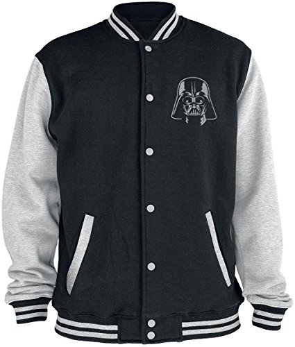 Star Wars Vader Logo Veste Collège noir/gris XXL