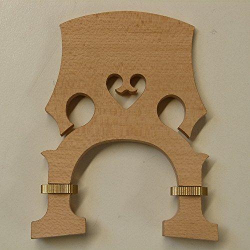 Höhe verstellbar Cello Brücke 4/4Größe Ahorn. UK Verkäufer