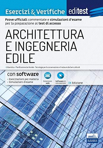 EdiTEST. Architettura ed ingegneria edile. Esercizi & verifiche. Con software di simulazione