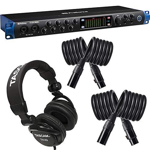 PreSonus Studio 1824c 18x20, 192 kHz, USB-C Audio Interface, 8 Mic...