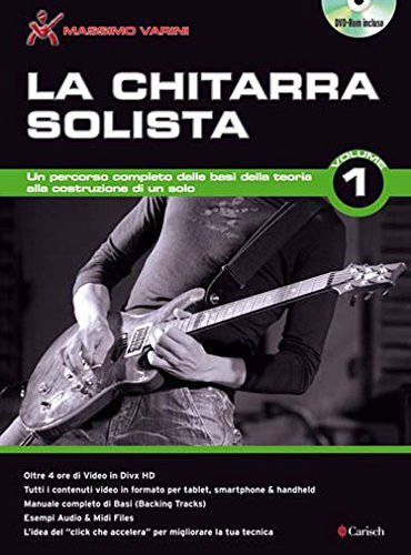 La chitarra solista. Con DVD (Vol. 1)
