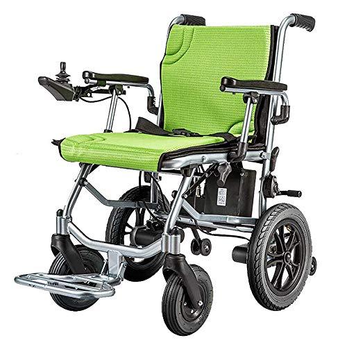 Leichte Rollstühle Elektrische Rollstühle verfügen über Zwei Steuerfunktionen, einen kompakten elektrischen Rollstuhlfahrer, der einen 45 cm Breiten öffnen/schnell umklappen kann