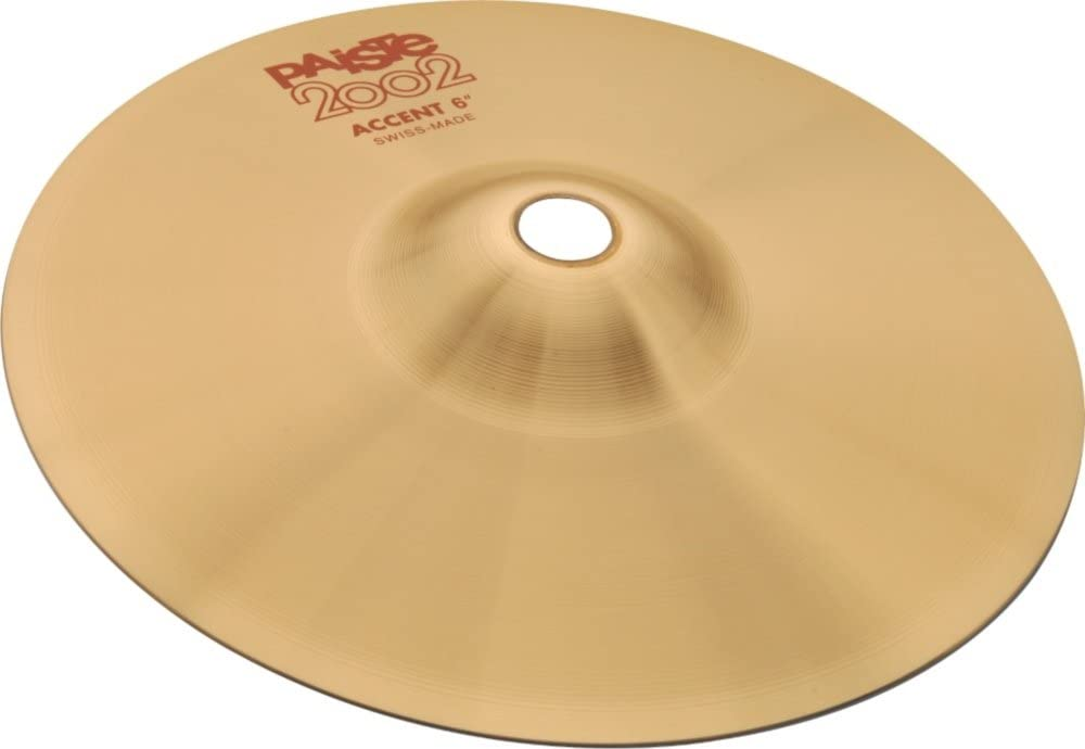 Paiste 2002 Accent Cymbal 6 Direct store in. High material