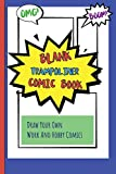 Blank Trampoliner Comic Book: Draw Your Own Work And Hobby Comics Omg! Boom!