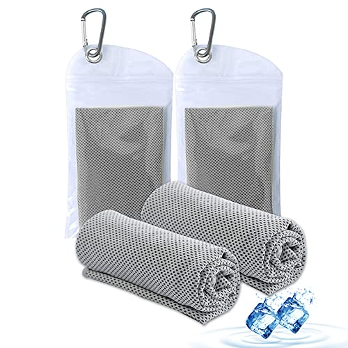 Amgico Cooling Towels for Neck and Face,Microfiber Sports Cooling Towel,Cooling Towels Bulk,Super Absorbent Cold Towel for Camping,Hiking,Gym Workout, Fitness,Yoga