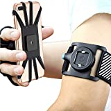 Quick Mount Phone Armband for iPhone 11 Pro Max/Xs Max/XS/XR/X/8 plus/8/7/7 Plus/6, Samsung Galaxy S10...