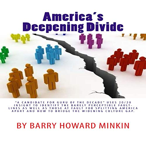 America's Deepening Divide audiobook cover art