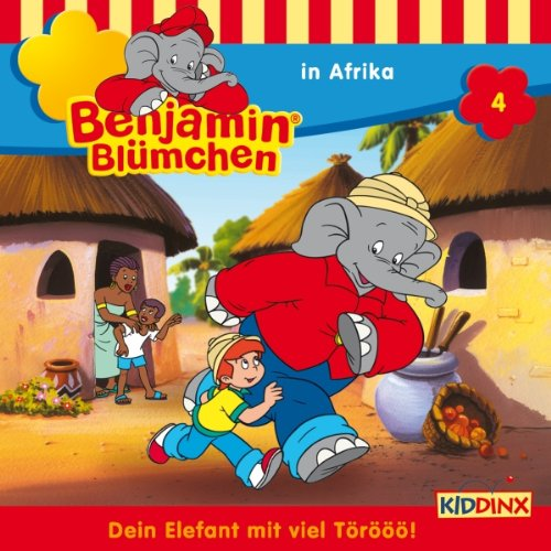Benjamin in Afrika cover art