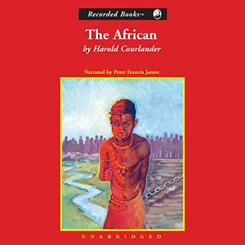The African audiobook cover art
