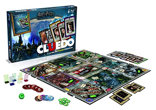 Winning Moves 0984 Cluedo – Harry Potter – Französische Version